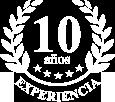 10 años de experiencia
